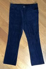 NEW MARKS & SPENCER COLLECTION NAVY CORD BOOTLEG JEANS - SIZE 18 LONG ❤️