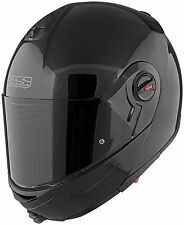 Speed and Strength SS1700 Solid Speed Full Face Motorcycle Helmet Gloss Black