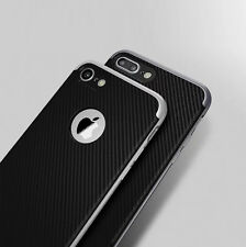 For iPhone 7/ 7 Plus Shockproof Hard Bumper Frame Slim hybrid Rubber Case Cover