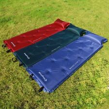 Camping Hiking Airbed Mat Self Inflating Mattress Sleeping with Pillow KingCamp