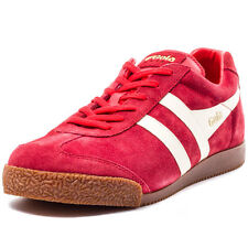 Gola Harrier Mens Trainers Red New Shoes