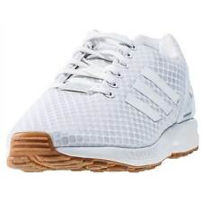 adidas Zx Flux Mens Trainers White Gum New Shoes