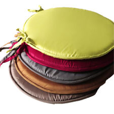 Indoor Round Seat Pad Patio Chair Cushion Office Chair Dining Tie On Cushion
