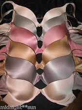 VICTORIA'S SECRET BIOFIT DEMI UPLIFT FULL COVERAGE STRAPLESS BRA 32 34 36 A B C.