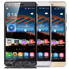 5.0'' Luxury Mobile Phone Android 6.0 Quad Core Dual SIM 3G WIFI GPS Smartphone