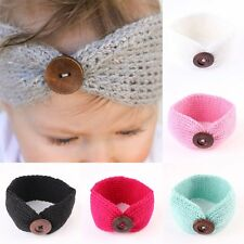 Adorable Kids Girl Boy Baby Toddler Bow Headband Hair Band Acces Winter Headwear