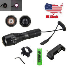 US OSRAM 7W IR 940nm Night Vision Infrared LED Zoomable Flashlight Hunting Torch