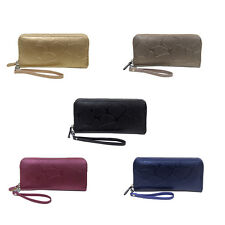 Women PU Leather Wallet Lady Long Card Holder Handbag Bag Clutch Purse cYng