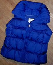 Vest Winter Down Kids Cobalt Blue Lands End Winter sizes Small or Medium New