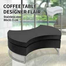 Black/White Modern Coffee Table Side Swivel Office Kitchen Furniture High Gloss