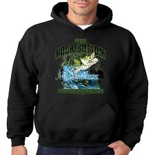 Fishing Hoodie Ive Hit Rock Bottom Catch Bass Hook Angler Pull Over