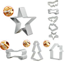 Cartoon Stainless Steel Cake Biscuit Cookie Cutter Mold DIY Baking Tool 5 Styles