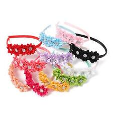 1Pcs Kids Girls Baby Toddler Infant Flower Headband Hair Bow Band Accessories