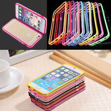 For IPhone 6 6s 7 Plus TPU Rubber Ultra Thin Bumper Case Frame Cover NEW