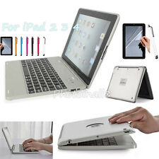 HOT Sale W/Power Bank Wireless Bluetooth Keyboard Case Cover For iPad 4 3 2 Gen