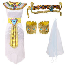 LADIES QUEEN OF THE NILE FANCY DRESS COSTUME EGYPTIAN PRINCESS CLEOPATRA PHARAOH