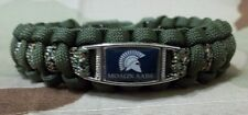 MOLAN LABE OD Green & Camo Custom 550lb Paracord SURVIVAL Bracelet w/ Buckle