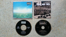 OASIS - 2 x Australian Promo CD Singles Whatever There and Then Aussie
