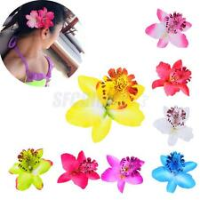 Beauty Wedding Bridal Flower Orchid Hair Clip Hairpin Barrette Hair Accessories