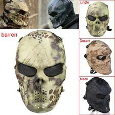 Airsoft Paintball Tactical Full Face Protection Mask Cosplay Army Outdoor Safety