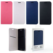 ANYMODE Forming Flip Cover Case for Samsung Galaxy S6, Black, White, Navy, Pink