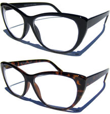 CAT EYE CLEAR LENS GLASSES Retro Hipster Classic Sexy Polished Frame Fashion New
