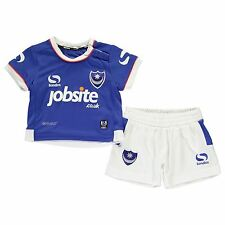 Sondico Portsmouth FC Home Kit 2016 2017 Infants Football Soccer Jersey Shorts