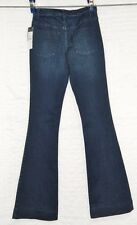 "NEW Mossimo High Rise Flare stretch denim jeans size 2 or 0 tall 35"" inseam"