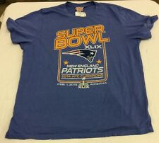 NFL Mens Junk Food New England Patriots Super Bowl XLIX 2014 T-Shirt