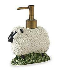 Sheep House & Sunflowers Dispenser by Park Designs, Soap or Lotion