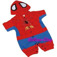 Spiderman Baby Costume Outfit Romper Halloween Party Infant Size 3m-24m FC014