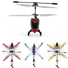 Syma S107G 3-Channel Mini Remote Control RC Helicopter Gyro LED Red Quadcopter