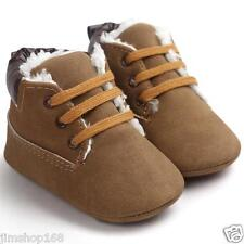Baby Toddler Soft Sole Leather Shoes Newborn Crib Boots Infant Boy Girl  Shoes