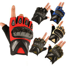 Outdoor Sports Half Finger Military Tactical Airsoft Hunting Cycling CS Gloves