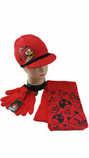 Angry Birds Hat Scarf & Gloves Set Boys Girls Angry Birds Hat Set Childs Hat Set