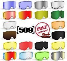 509 KINGPIN 2017 SNOWMOBILE GOGGLE LENSES YOUR CHOICE - COLORS POLARIZED MIRROR
