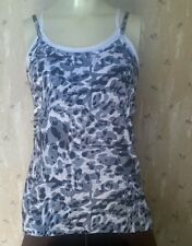 BCG Womens Size M Polyester Spandex Yoga Built-in Bra Sports Top