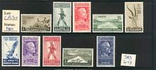 """C_A_510. COLONIE AFRICA. AOI. Stamps from 1938 """"SOGGETTI VARI"""" set. MNH."""
