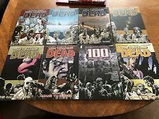 The Walking Dead Volumes 1,2,3,4,7,8,11 And Very Rare 100 Project