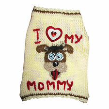 Unique dog sweater puppy pet cat clothes X Small Medium Large dog apparel outfit