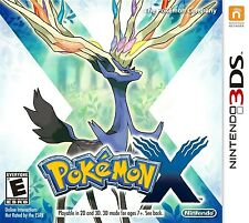 Pokemon X Nintendo 3ds Game (can Edit The Save For You All Pokemon Max Cash )