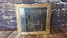 Antique Vintage Circa Victorian Stained Glass Leaded Glass Window