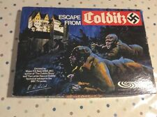 Escape From Colditz Board Game By Parker - Vintage