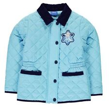Disney Childrens Padded Jacket Girls Outdoor Warm Zipped Overcoat Clothing