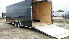 8.5x20 5200 Enclosed Trailer Cargo Car Hauler 8 V-nose Motorcycle 22 Box 2017