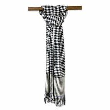 Men's Warm Winter Houndstooth Cashmere Scarf Casual Formal Stocking Stuffer