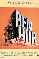 William Wyler's Ben-Hur - DVD- Charlton Heston -  EXCELLENT - SHIPS FREE