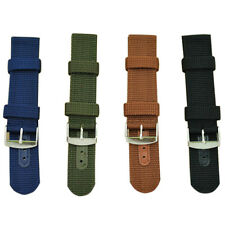 Hot Strong INFANTRY Military Wrist Army Nylon Canvas Watch Strap Band TB