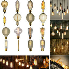 40W Bulb Filament Light Bulbs Vintage Retro Industrial Style Edison Lamps 220V