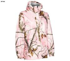 Realtree Storm Seeker Pink Camo Zip Up Hoodie Rain Jacket Size Sm/Med or L/XL
